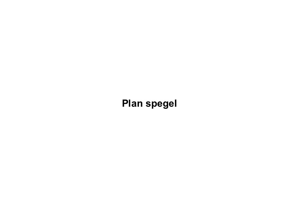 Plan spegel