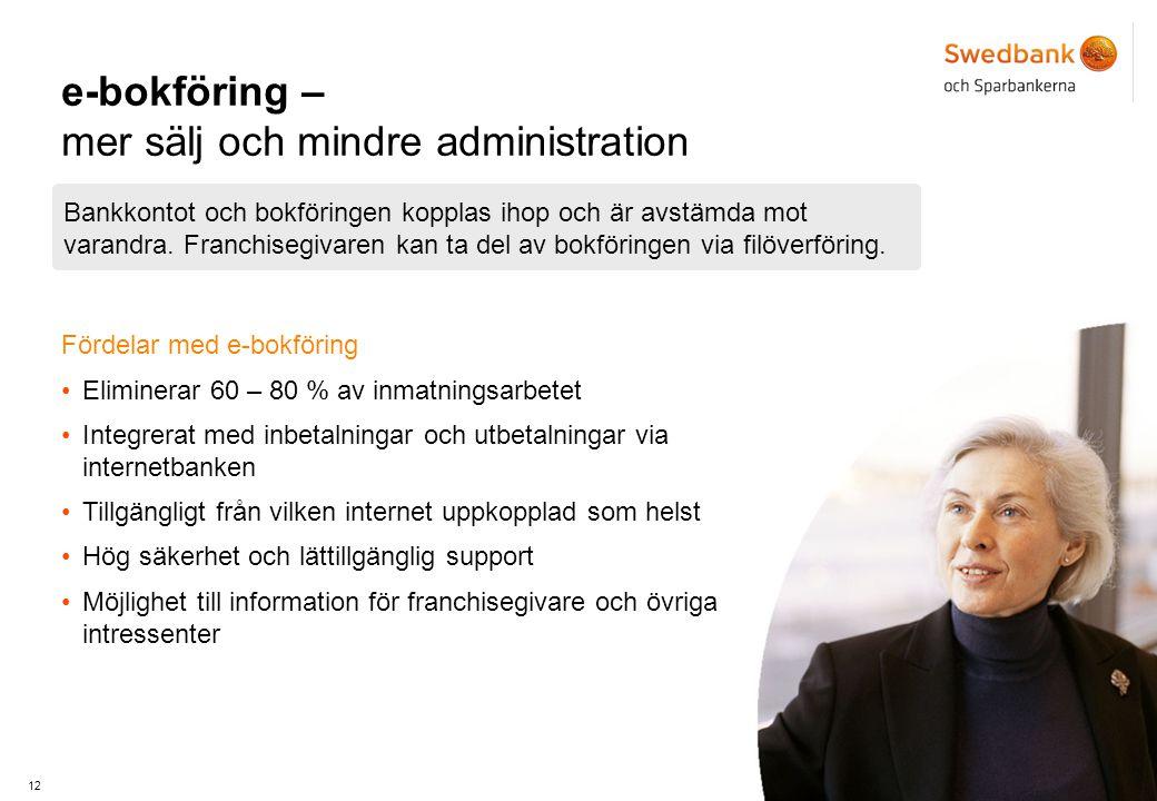 e-bokföring – mer sälj och mindre administration