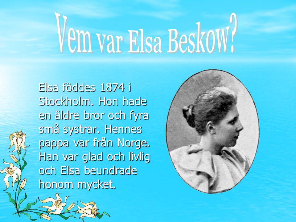 Vem var Elsa Beskow