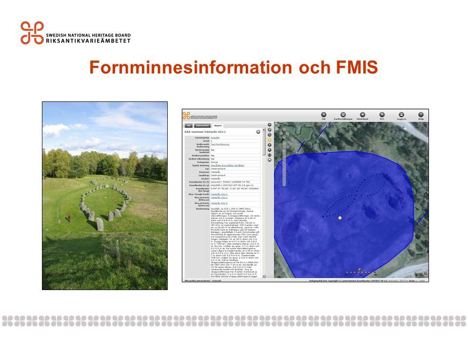 Fornminnesinformation och FMIS