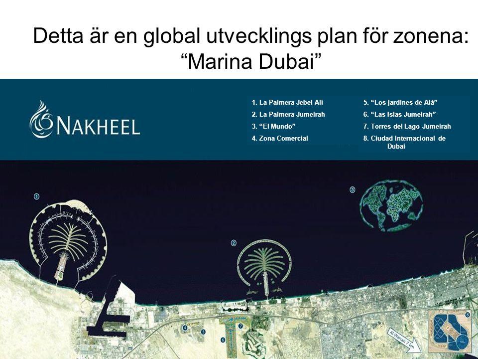 Detta är en global utvecklings plan för zonena: Marina Dubai