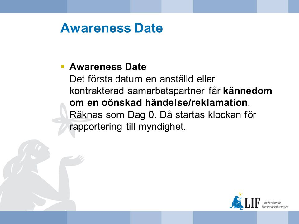 Awareness Date