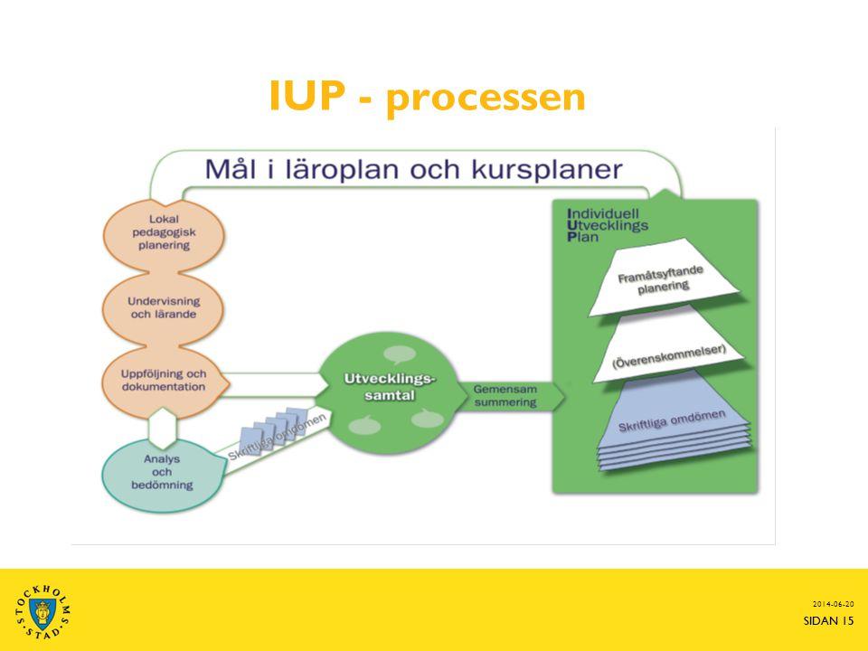 IUP - processen 2017-04-02 SIDAN 15 SIDAN 15