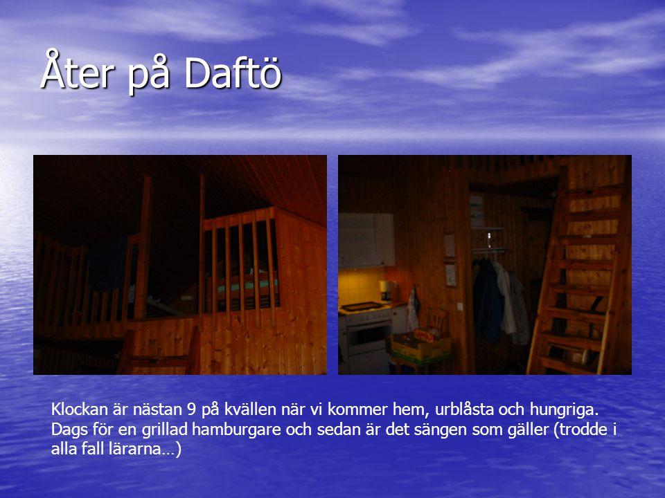 Åter på Daftö