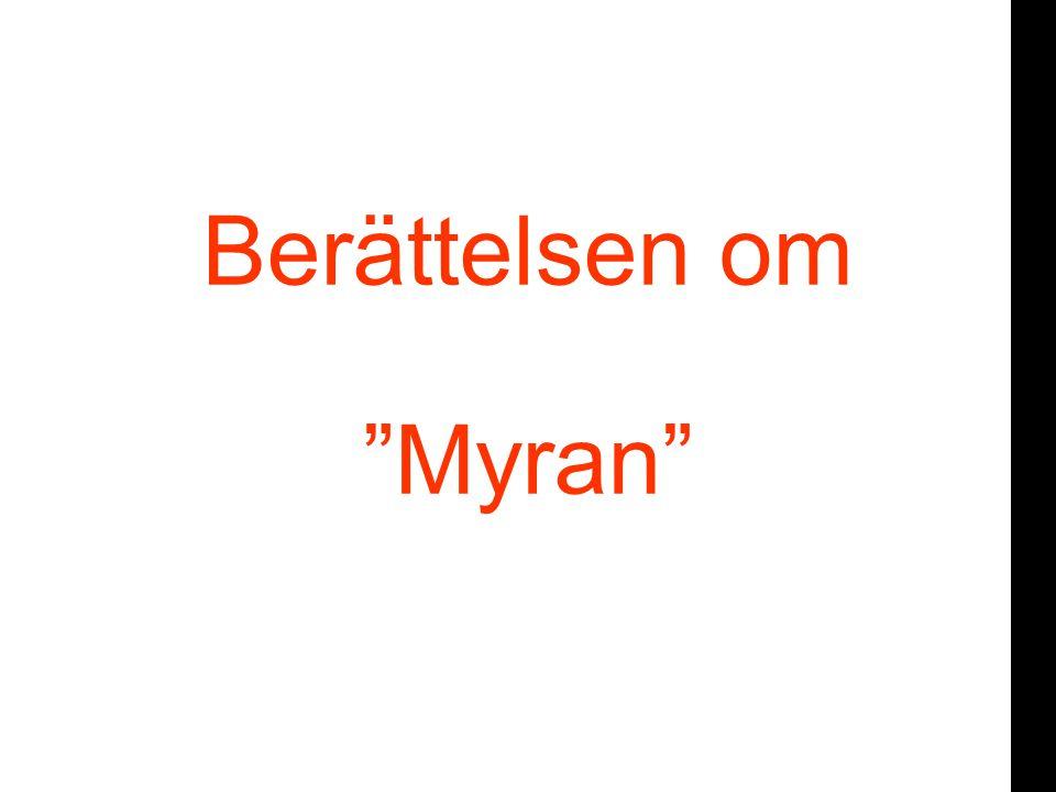 Berättelsen om Myran
