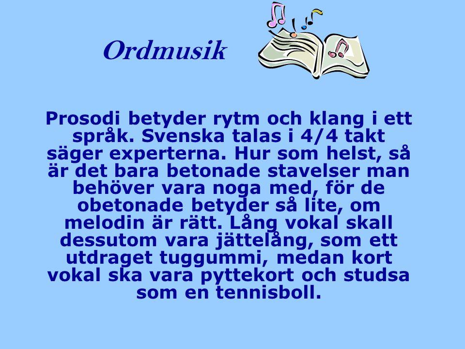 Ordmusik