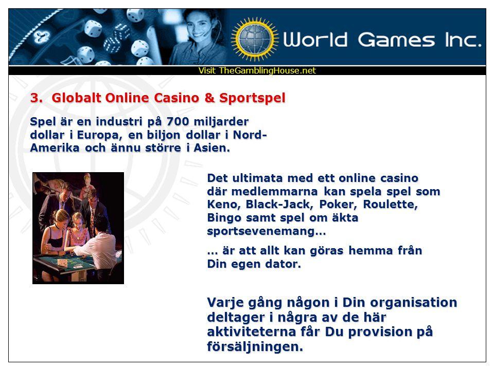 3. Globalt Online Casino & Sportspel