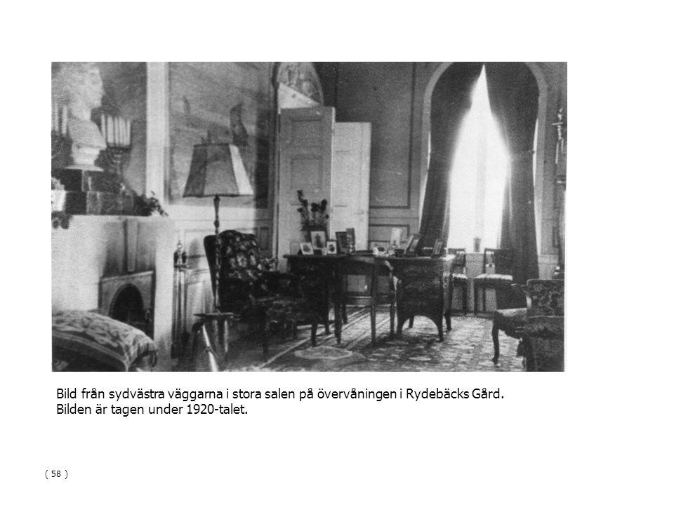 Bilden är tagen under 1920-talet.