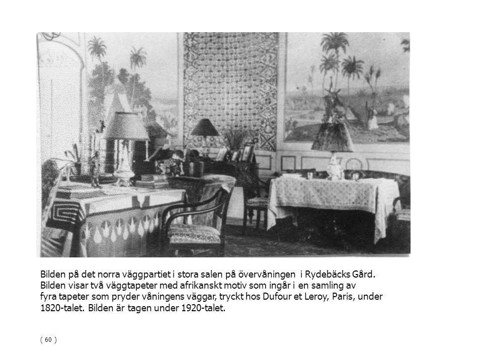 1820-talet. Bilden är tagen under 1920-talet.