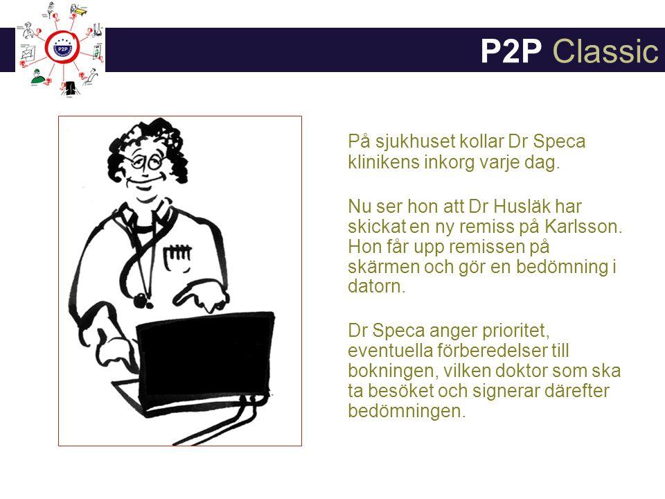 P2P Classic På sjukhuset kollar Dr Speca klinikens inkorg varje dag.