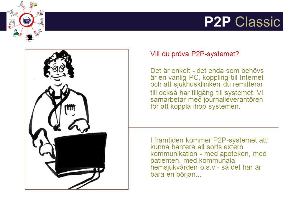 P2P Classic Vill du pröva P2P-systemet