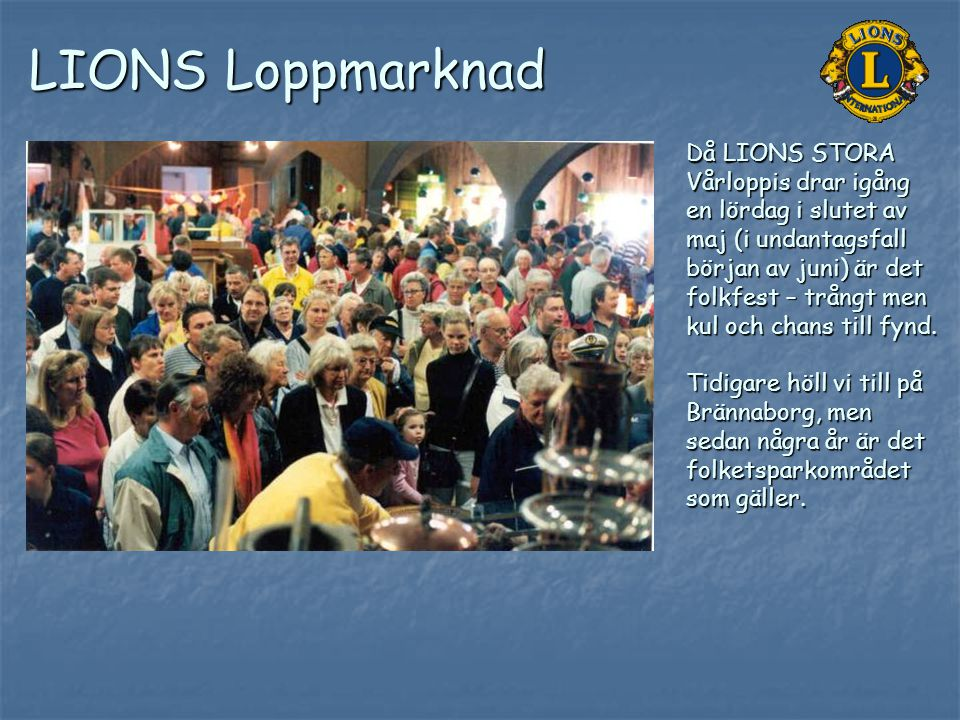 LIONS Loppmarknad