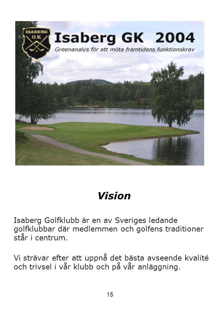 Vision Isaberg Golfklubb är en av Sveriges ledande golfklubbar där medlemmen och golfens traditioner står i centrum.