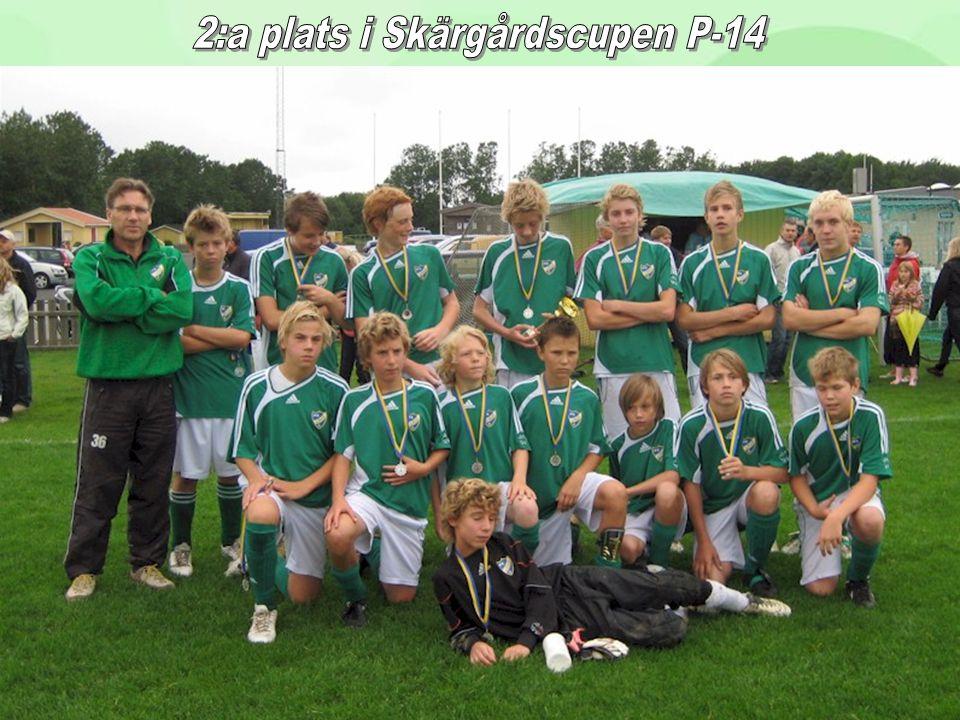 2:a plats i Skärgårdscupen P-14