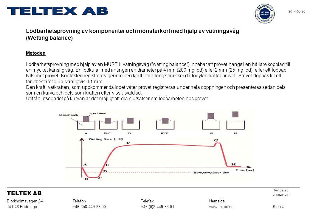 Sida 4 www.teltex.se. +46 (0)8 449 83 01. +46 (0)8 449 83 00. 141 46 Huddinge. Hemsida. Telefax.