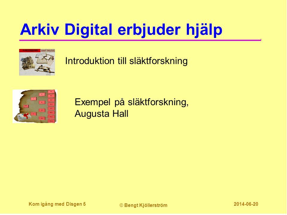 Arkiv Digital erbjuder hjälp