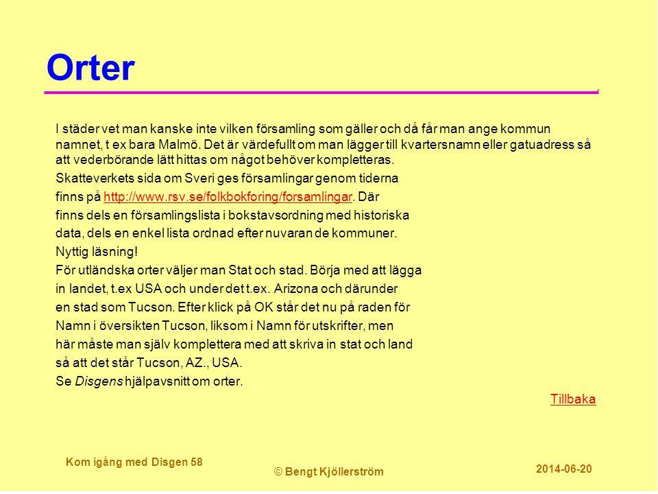 Orter