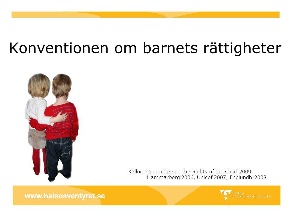 Konventionen om barnets rättigheter