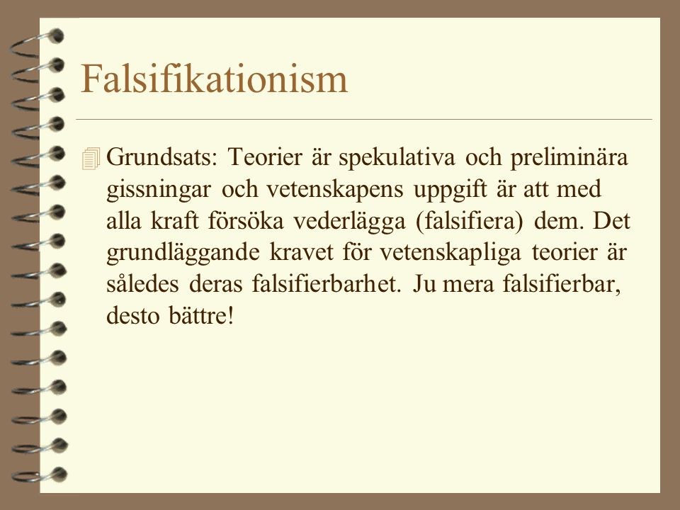 Falsifikationism