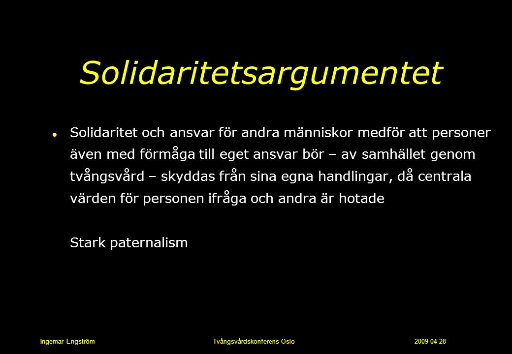 Solidaritetsargumentet
