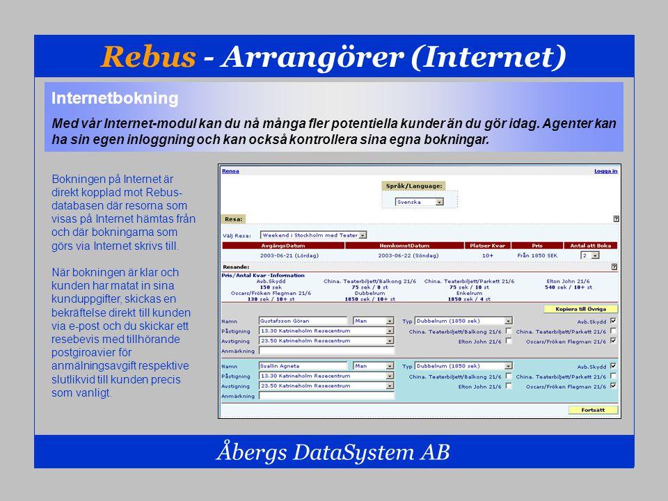Rebus - Arrangörer (Internet)