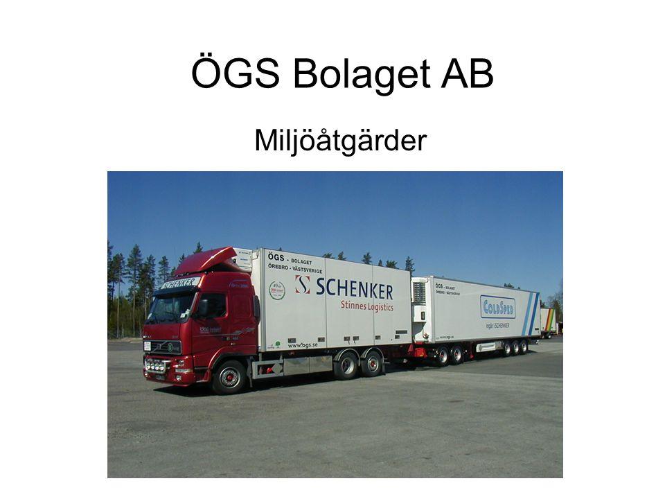 ÖGS Bolaget AB Miljöåtgärder