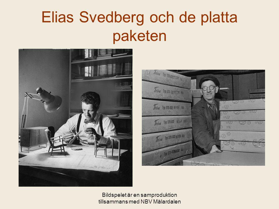 Elias Svedberg och de platta paketen