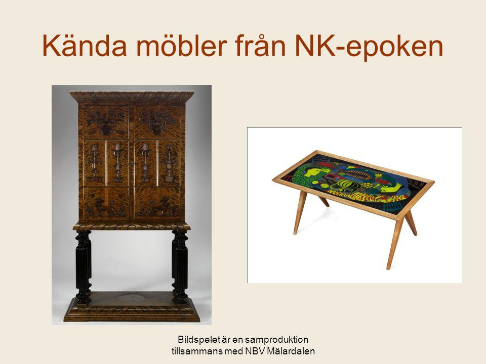 Kända möbler från NK-epoken
