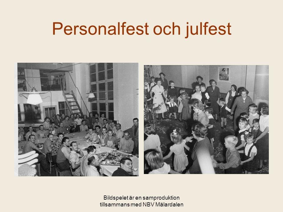 Personalfest och julfest