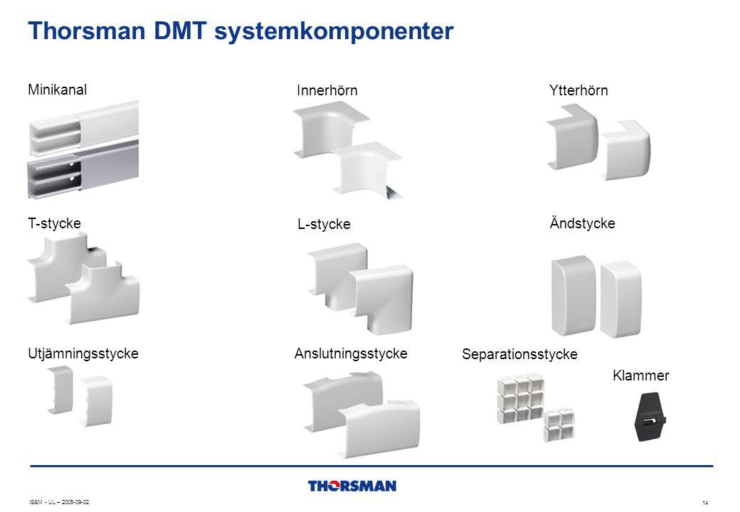 Thorsman DMT systemkomponenter