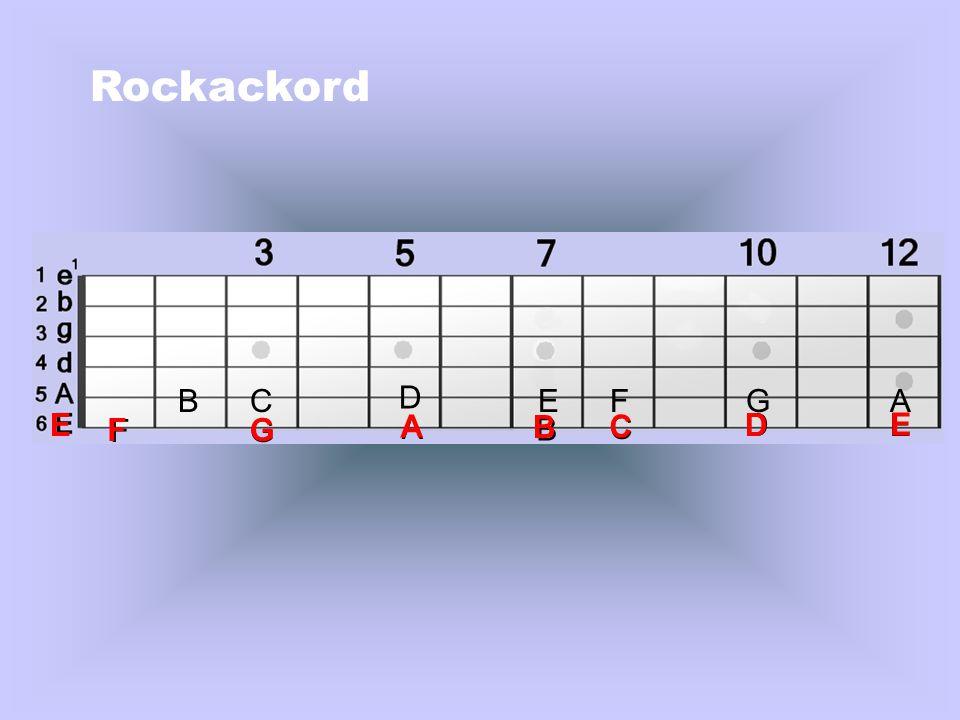 Rockackord B C D E F G A E F F G G A A B B C C D D E E