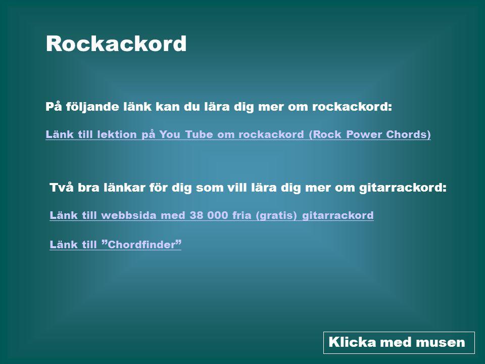 Rockackord Klicka med musen