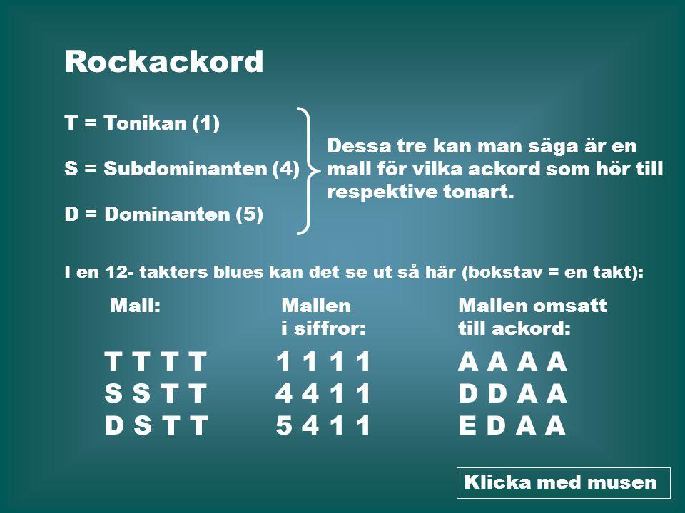 Rockackord T T T T S S T T D S T T 1 1 1 1 4 4 1 1 5 4 1 1 A A A A