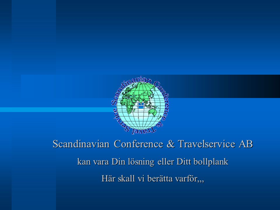 Scandinavian Conference & Travelservice AB