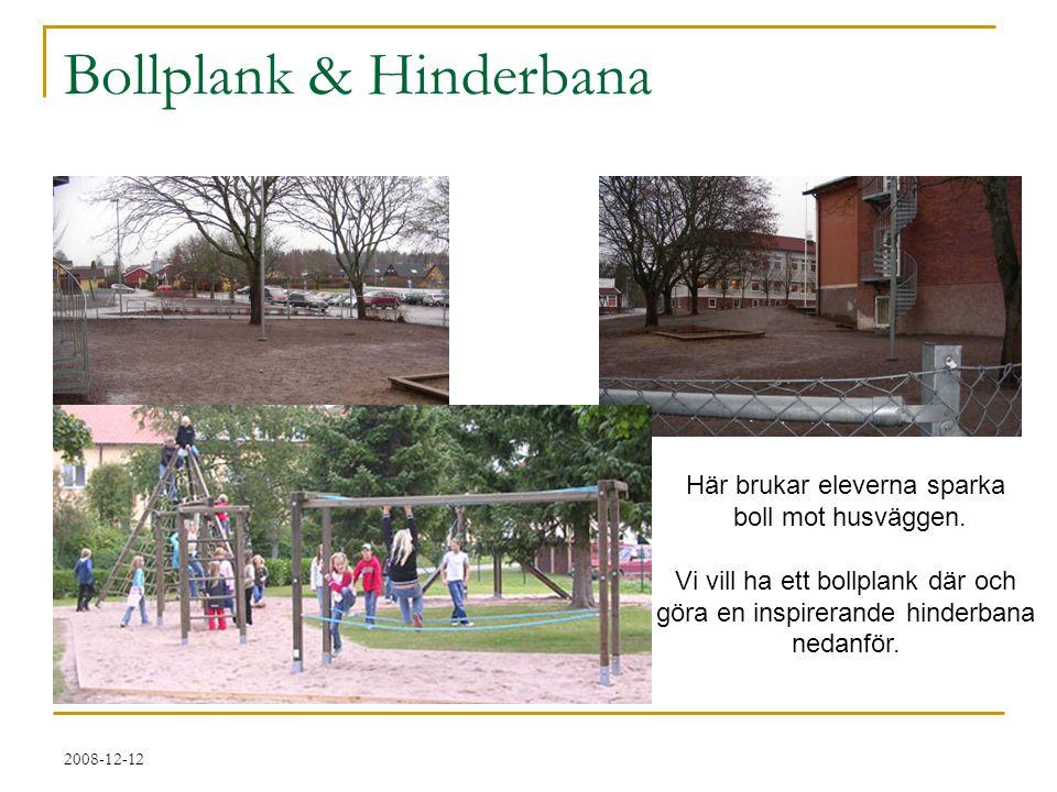 Bollplank & Hinderbana