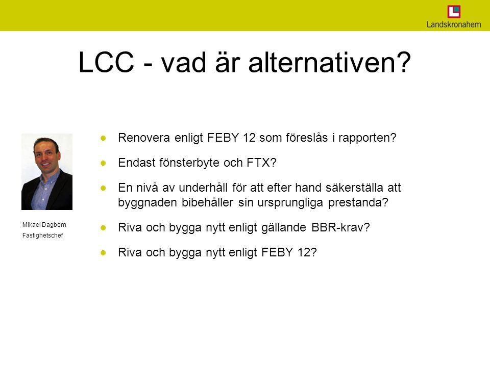 LCC - vad är alternativen