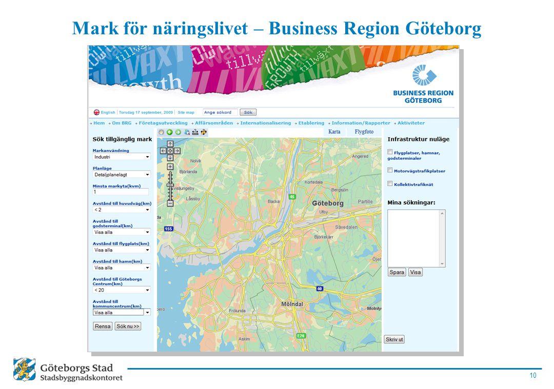 Mark för näringslivet – Business Region Göteborg
