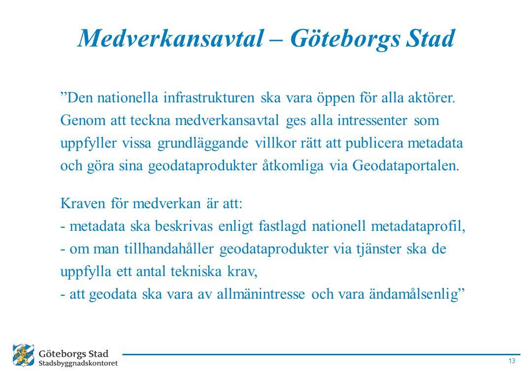 Medverkansavtal – Göteborgs Stad