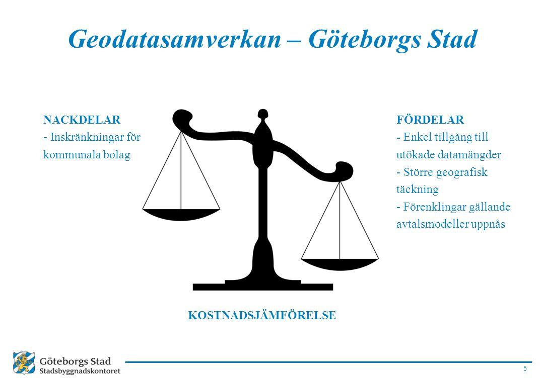 Geodatasamverkan – Göteborgs Stad