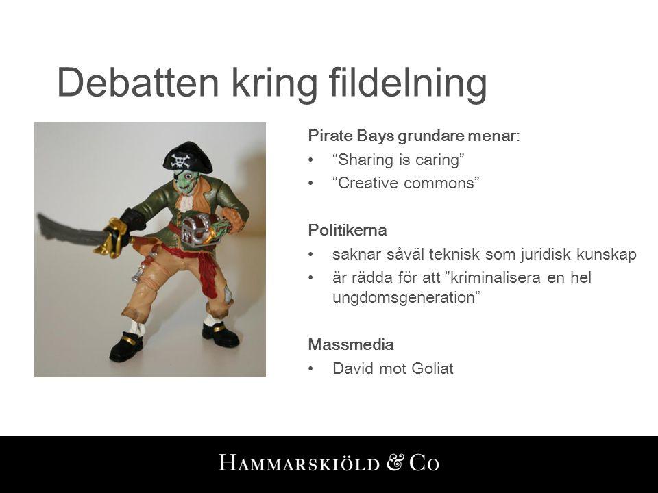Debatten kring fildelning
