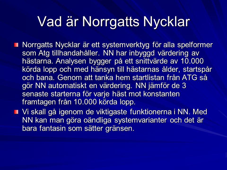 Vad är Norrgatts Nycklar