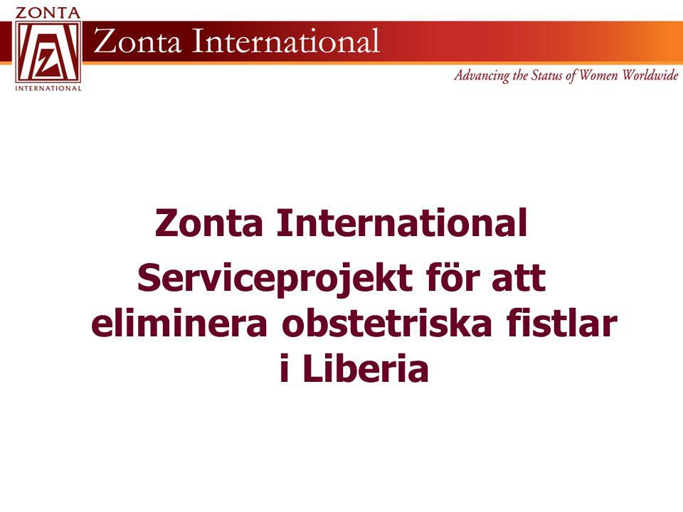 Serviceprojekt för att eliminera obstetriska fistlar i Liberia
