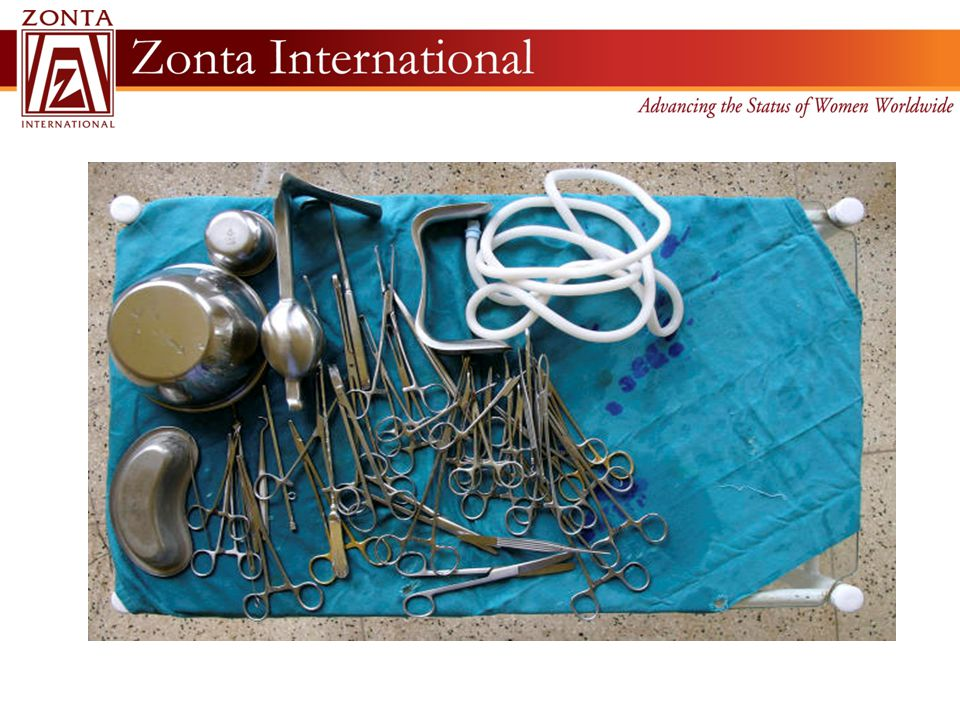 With Zonta's money, six doctors and more than 70 nurses, midwives and physician assistants were trained who in turn treated 875 fistula patients.