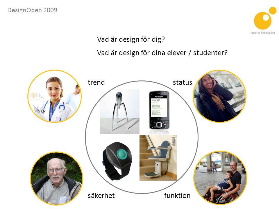Vad är design för dina elever / studenter