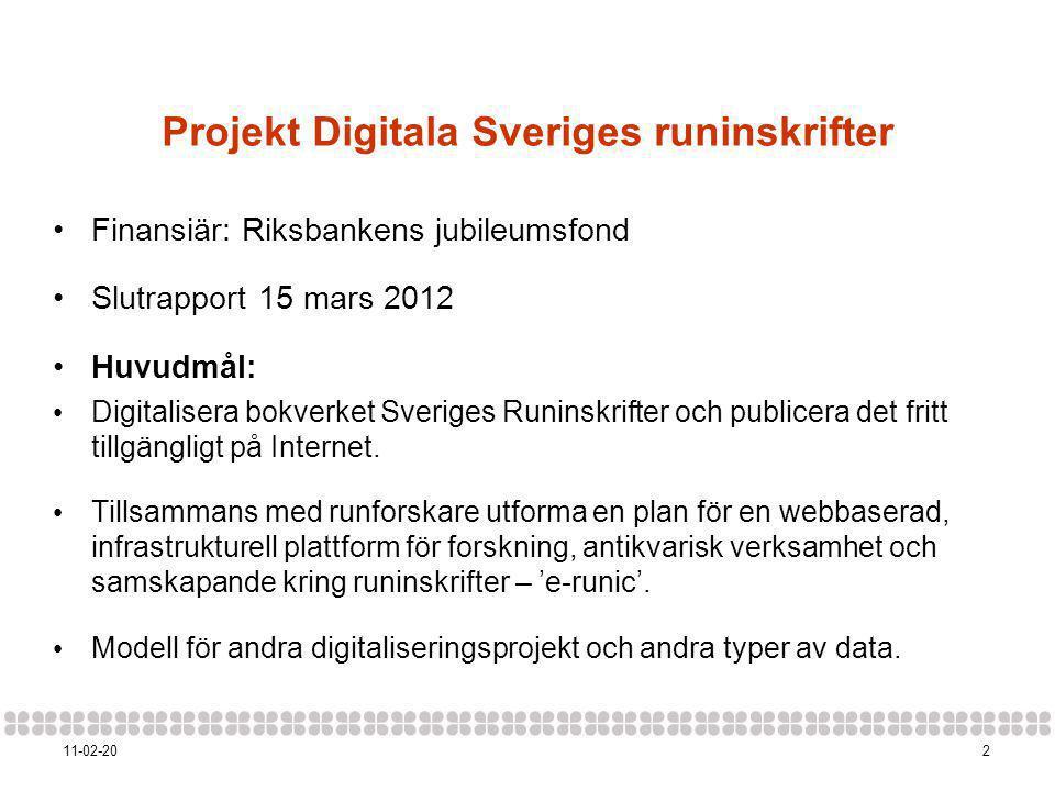 Projekt Digitala Sveriges runinskrifter