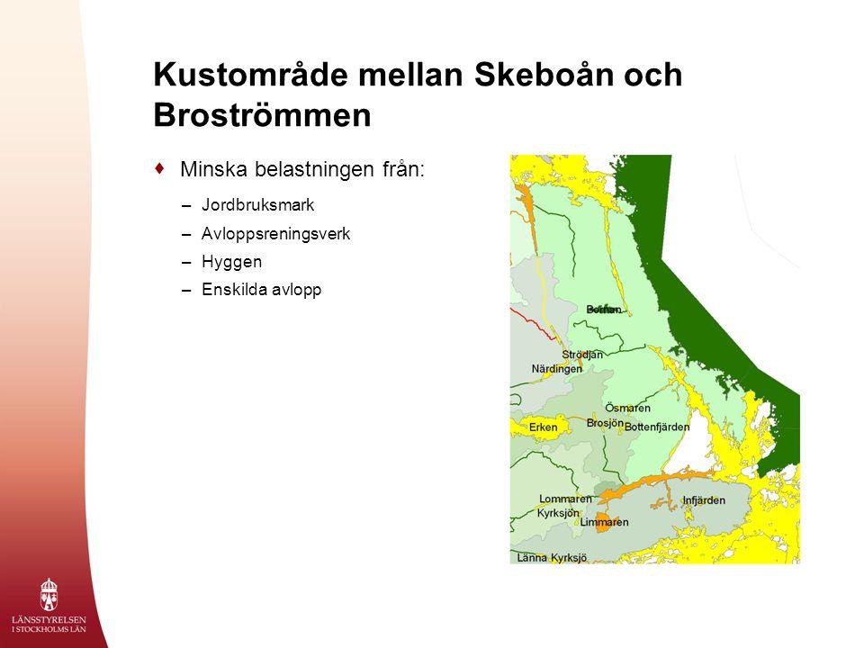 Kustområde mellan Skeboån och Broströmmen