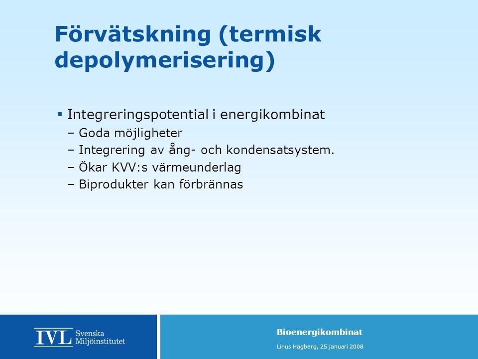 Förvätskning (termisk depolymerisering)