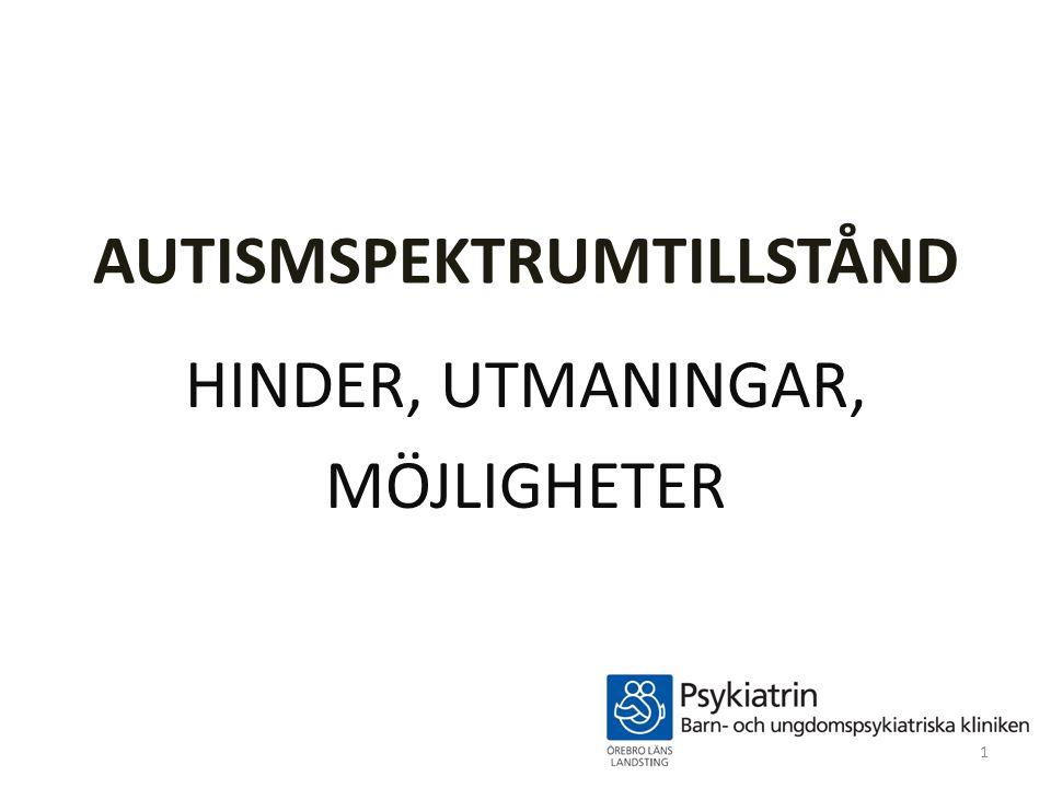 AUTISMSPEKTRUMTILLSTÅND