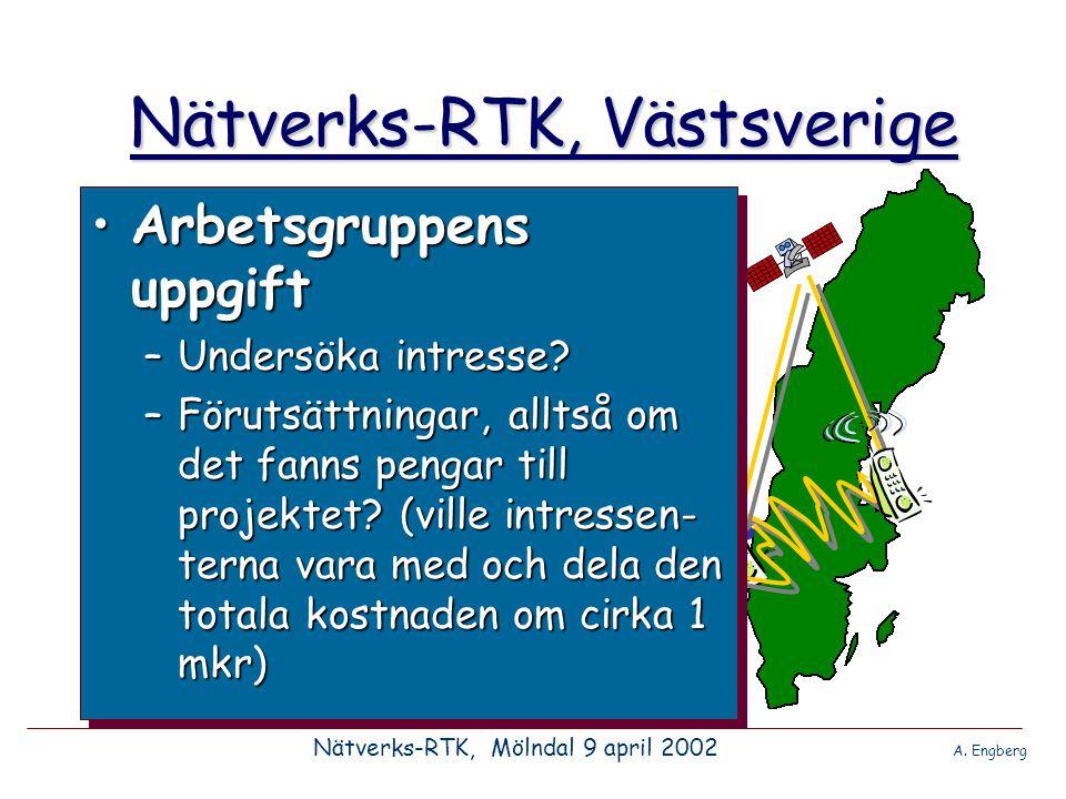 Nätverks-RTK, Västsverige