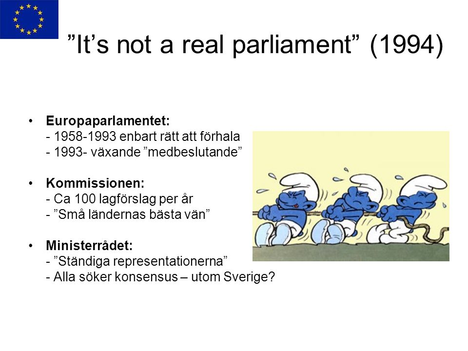 It's not a real parliament (1994)